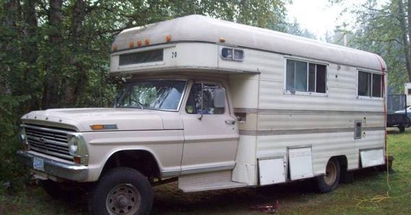 Airstream For Sale Bc >> 1968 ford 1 ton motorhome 4x4   4x4 Motorhome   Pinterest   Motorhome, 4x4 and Ford