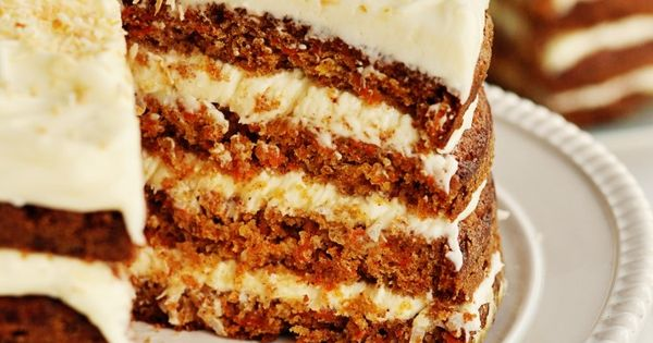 """Hawaiian Carrot Cake with Coconut Icing The cake is a tropical version,"