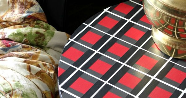 How to Paint a Plaid Pattern Without Measuring How to