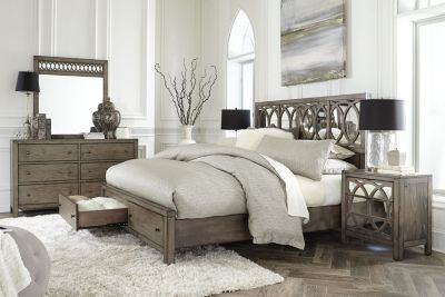 Aspen Tildon 4 Piece Queen Storage Bedroom Set New At Homemakers Pinterest Aspen