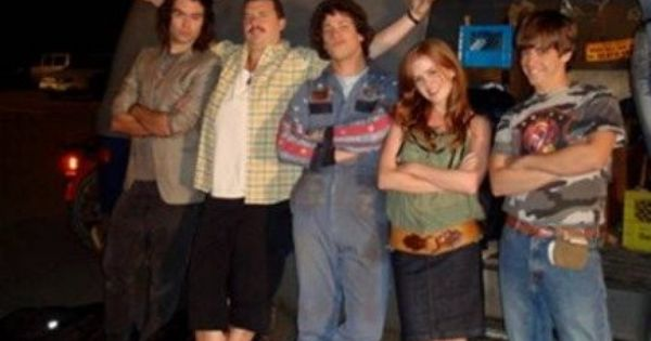 Still Of Isla Fisher Bill Hader Danny Mcbride Jorma Taccone And