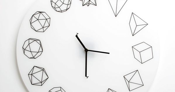 Solid Ho // Geometric Clock