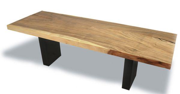 Tamburil Single Slab Dining Table