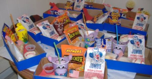 Drive In Theater Birthday Party Concession Stand Box Or If You Just Want To Have A Movie Night Movie Birthday Party Baseball Birthday Party Movie Themed Party