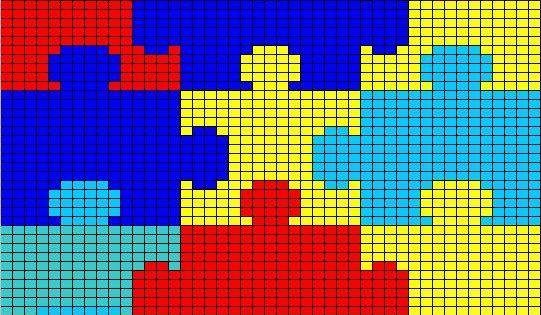 Puzzel Deken Haken Deken Haken Pinterest Deken En Haken
