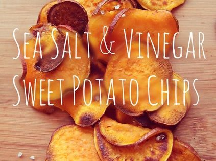 Also, sweet recipe too! Sweet Potato Chips healthy