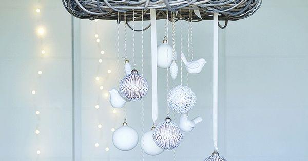 h ngender kranz im skandinavischen stil mollie diy adventskranz pinterest basteln und. Black Bedroom Furniture Sets. Home Design Ideas