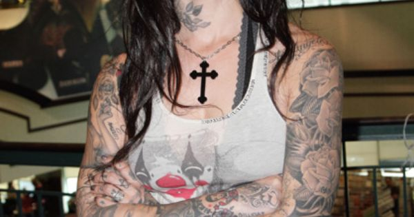 Tatted up KatVonD