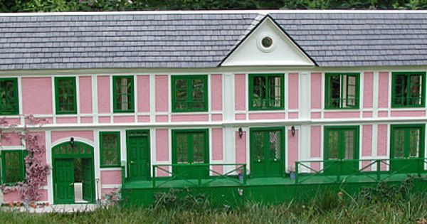 Monet Miniature Dollhouse Doll House Picture