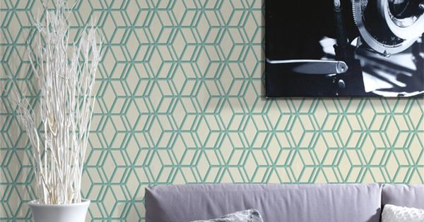 Papier peint ling vert d 39 eau 4 murs papier paint for Papier a peindre 4 murs