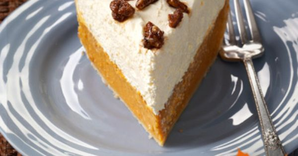 Thanksgiving Countdown: Elegant Pumpkin Pie from Taste of Home. It really is