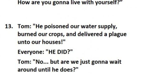 Best Spongebob quotes.