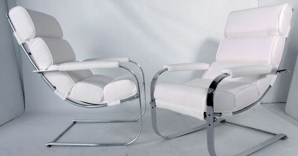 Streamlined art deco lounge chair by gilbert rohde 1 of 2 modern lounge art deco and lounge - Deco lounge eetkamer modern ...