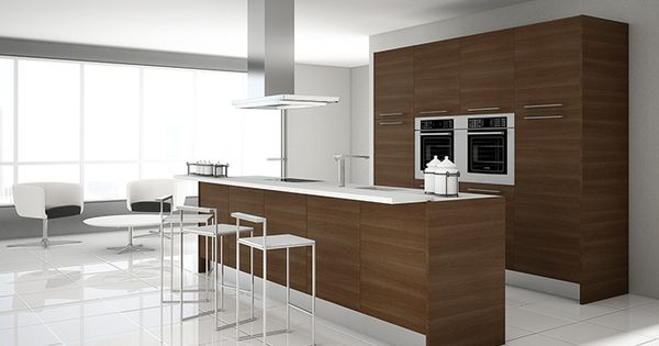 Rey zebrano galer a de ideas pinterest kitchens for Kitchen ideas zebrano