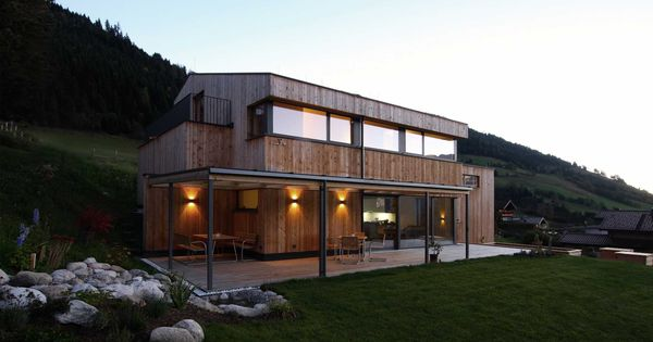 Einfamilienhaus holzhaus modern was wir bauen for Hausformen einfamilienhaus