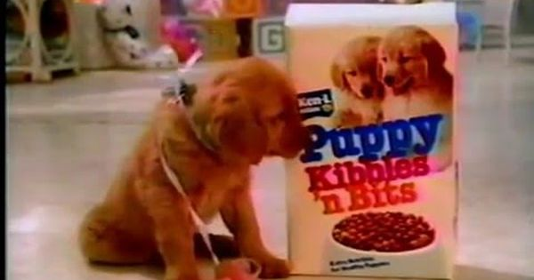 1985 Puppy Kibbles And Bits 80s Commercial Regular And Slow
