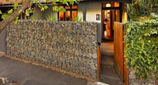 Gabion Fences And Stone Walls Rock Fence Design Nz Gabion