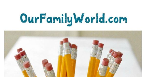 Back to School Craft: DIY Personalized Pencil Holder | Recipe | Crafts ...