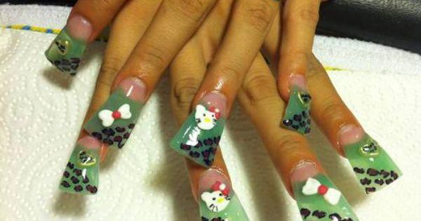 Unas Acrilicas En La Ciudad De Victorville Ca Acrylic Nails Nails How To Make