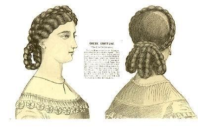 Civil War Hairstyle Historische Frisuren Viktorianische Frisuren Haar Styling