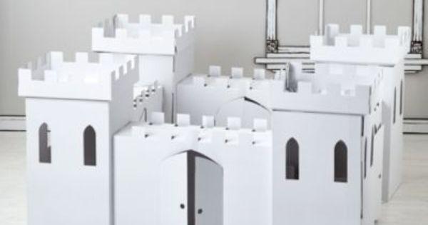 Kardboard Kingdom House Tent Play Houses Cardboard Castle