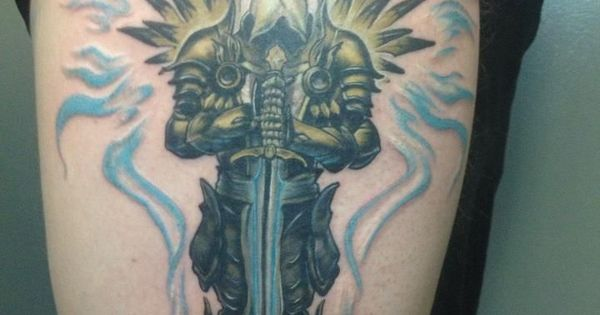 tyrael diablo google search tattoo black white sepia pinterest tatoo tattoo and. Black Bedroom Furniture Sets. Home Design Ideas