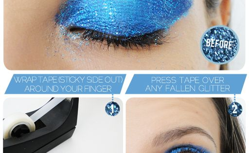 The Glitter Picker Upper ….eyemakeup blueshadow eyes beauty - bellashoot.com