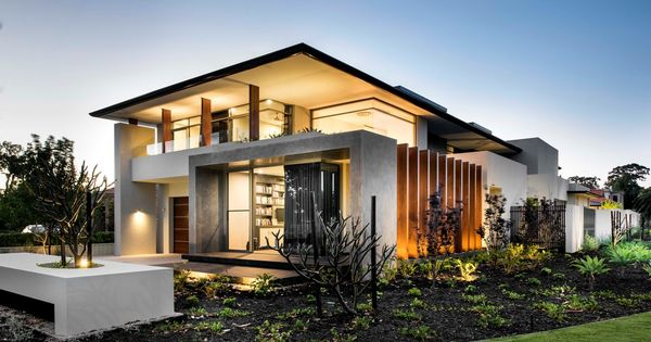 Coolbinia Residence 2 Azure Luxury Homes Architecture Contemporary House Design Modern House Exterior