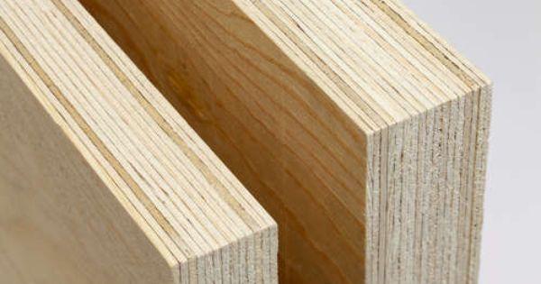 Kerto Lvl Fast Light Green Wood Laminated Veneer Lumber Beams