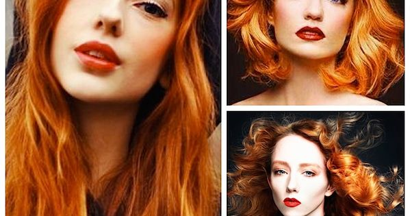 Natural Red And Orange Hair