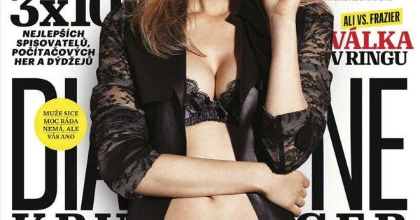 Diane Kruger on Esquir...