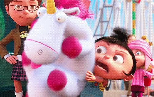 #DespicableMe Agnes Unicorn Fluffy
