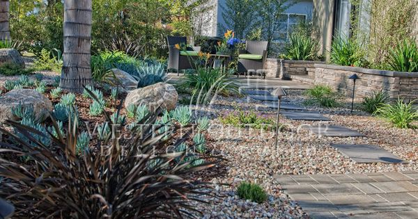 Landscape Boulders Orange County Ca : Xeriscaping is extremely popular especially in southern california with rising water costs
