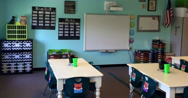 Classroom Design And Organization ~ Paint color for next year teaching room and decor
