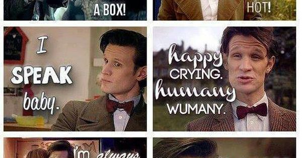 Doctor Who Matt Smith Quotes Funny Matt Smith/Docto...