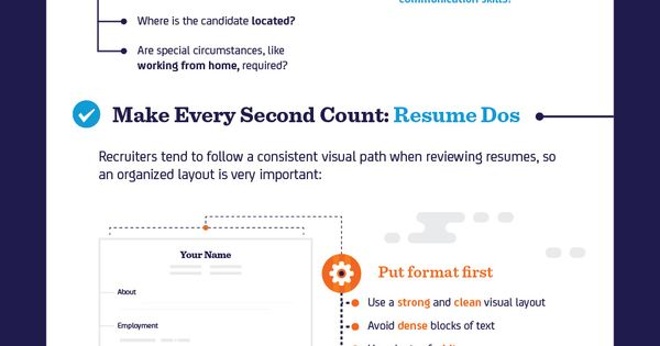 Resume Dos and Donu0027ts Making Recruiters Take Notice (Infographic - resume dos and don ts
