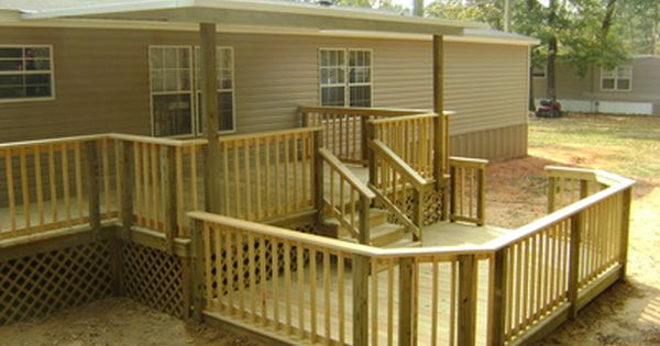 Mobile home improvement projects