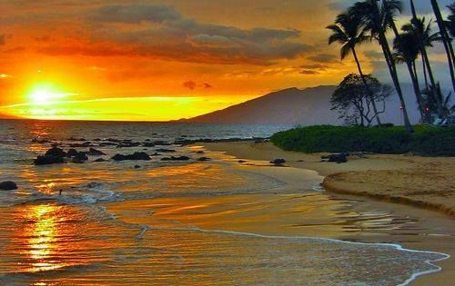 Maui, Hawaii - your perfect conditions all the time, beautiful sunsets, romantic
