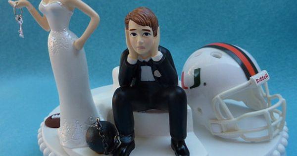Miami Hurricanes Cake Topper
