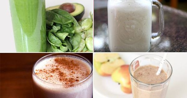 One a day will help keep the pounds away: breakfast smoothies for