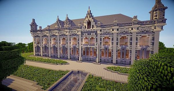 Little Palace Minecraft World Save | minecraft | Pinterest ...