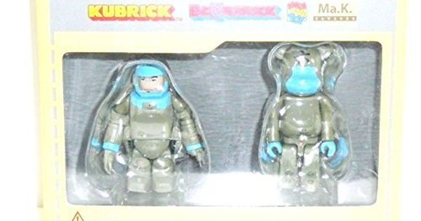 Medicom Toy Kubrick Bearbrick 100/% ALICE IN WONDERLAND MAD HATTER /& WHITE RABBIT