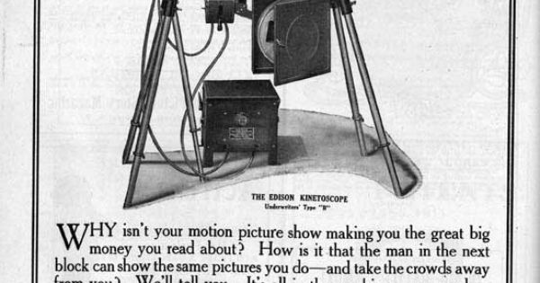Inventor of movie projector