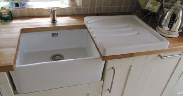 Astracast Ceramic Belfast Butler Drainer For Kitchen Sink
