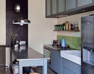 sophie ferjani photos de sa maison maison vendre interview kitchens interiors and. Black Bedroom Furniture Sets. Home Design Ideas