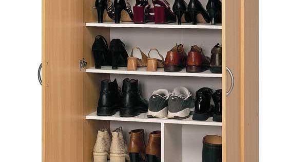 17 propuestas para organizar los zapatos en casa for Mueble porta zapatos