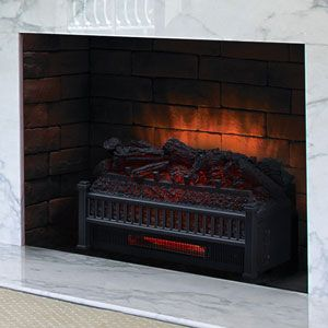 Dimplex 23 Inch Deluxe Electric Fireplace Log Insert Set Dfi2310