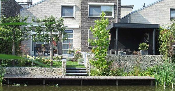 Tuinontwerp tuin aan het water google zoeken tuin pinterest tuinontwerp water en zoeken - Tuin grind decoratief ...