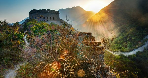 The Great Wall, China -- photo by Trey Ratcliff