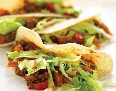 Lighter Beef Tacos | Recipe | Beef Taco Recipe, Tacos and Taco Recipe